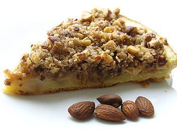Яблочный пирог с орехами рецепт