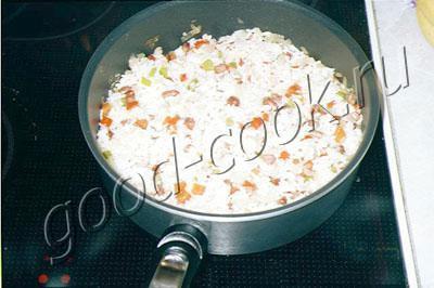 рис с перцем и арахисом