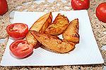 картофель, запечённый в соусе Адобо