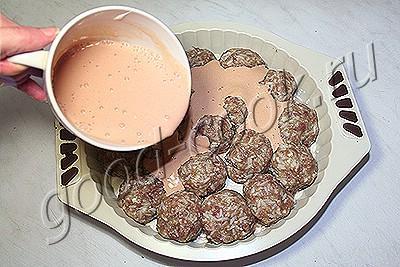 ёжики (тефтели с рисом)