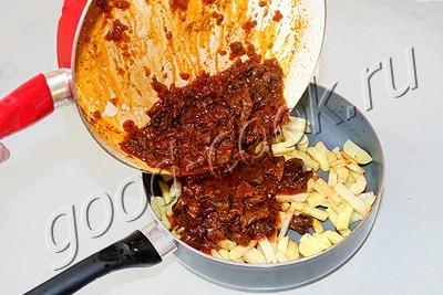 Азу по-татарски, рецепт приготовления
