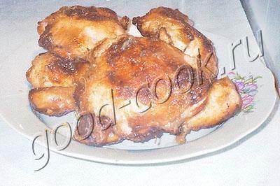 курица, запеченная с ананасом