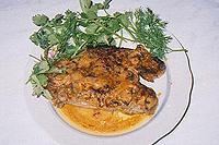 свинина в сливочном соусе