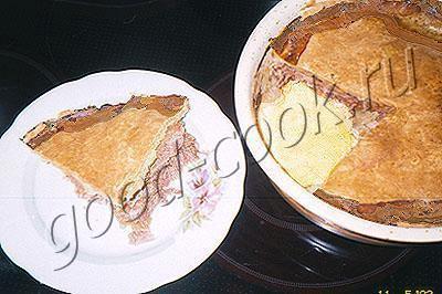 чеширский свиной пирог