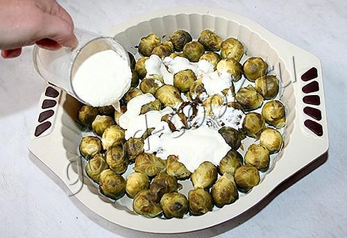 овощи запеченные в сливочном соусе