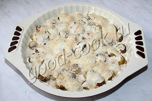 овощи в духовке с соусом запеченные рецепты
