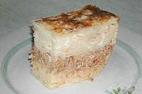 макаронник с мясом