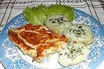 говядина под бананово-сливочным соусом