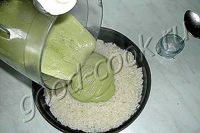 капустно-рисовая запеканка
