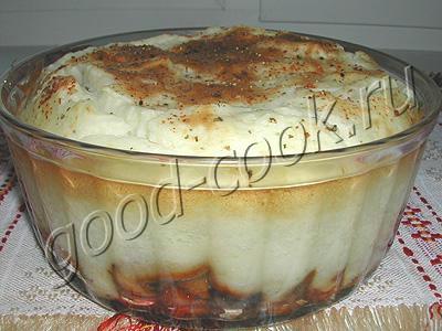 пастуший картофельный пирог