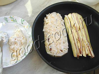 баклажаны, запеченные с беконом
