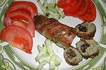 запеченные колбаски с сухофруктами