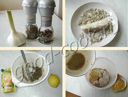 фаршированные окорочки в лимонном соке