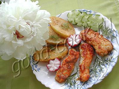 жареные куриные палочки