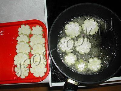 кабачки жареные