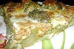 брокколи в сырном омлете
