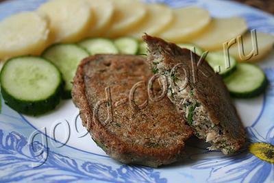оладьи из рыбных консервов