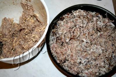 запеканка из гречки с мясом