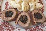 мясные рулеты с черносливом и орехами