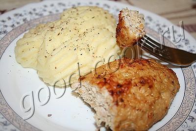 курино-капустные котлеты