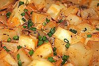 картофель в сметане запеченный в духовке