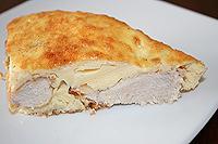 курица в омлете