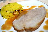 мясо запеченное в фольге с апельсиновым соком