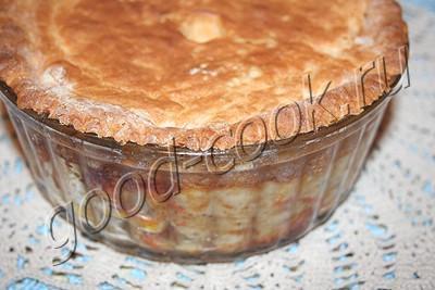 американский куриный пирог