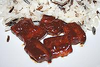 свинина по-корейски в остро-кисло-сладком соусе