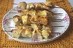 куриные шашлыки в лимонном соке