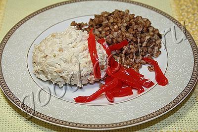 паровые котлеты из курицы с рисом
