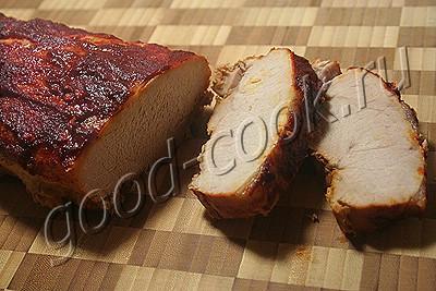 запеченное мясо в пряной глазури