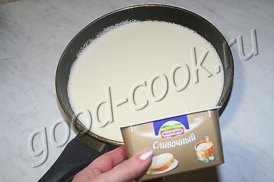 картофельная запеканка под сырным соусом