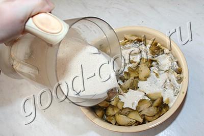 брюссельская капуста запеченная с яйцами и сыром