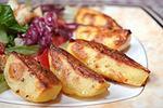 картофель запеченный с горчицей и медом