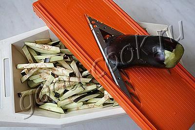 тушеные баклажаны с фаршем