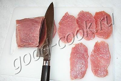 свинина, жаренная в лаваше