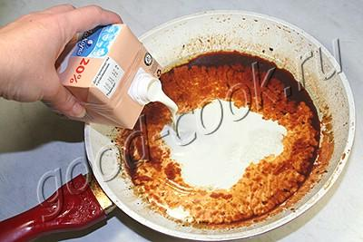 куриная грудка тушеная в соевом соусе