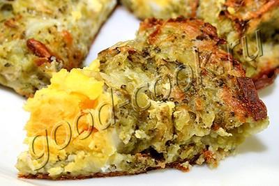 запеченные яйца в корзиночках из брокколи