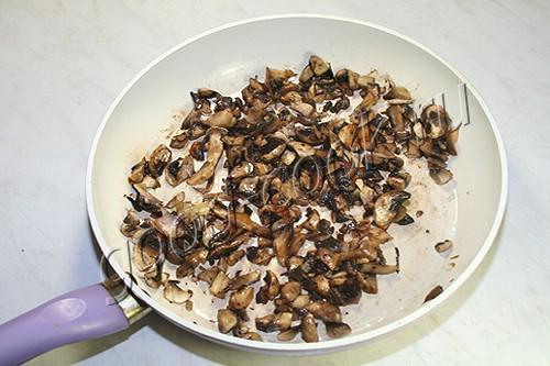 капуста тушеная с грибами