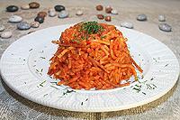рис тушеный в соусе из болгарского перца