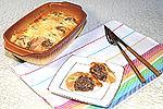 фрикадельки в омлете