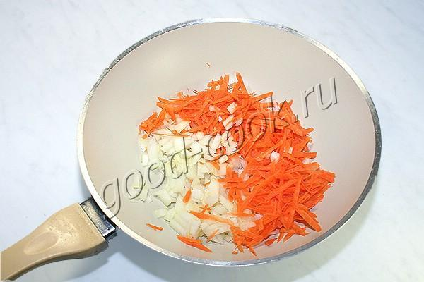 спагетти с курицей, приготовленные в одной посуде