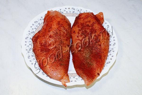 куриное филе томлёное в молоке