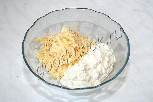 запеканка из картофельного пюре с консервированным лососем