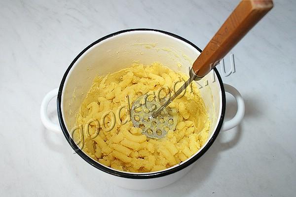 картофельное пюре с сухим молоком
