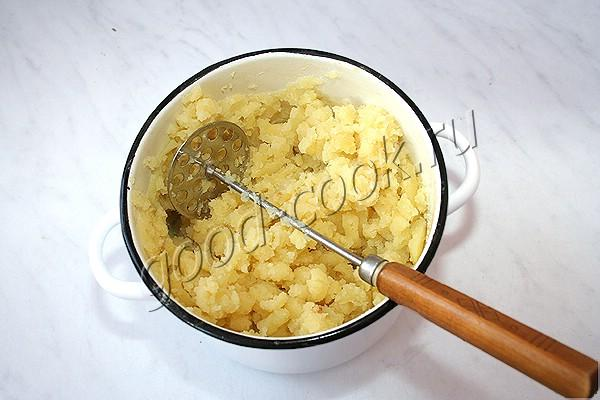 картофельная запеканка с грибами