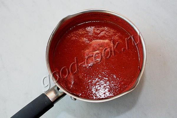 томатное ризотто