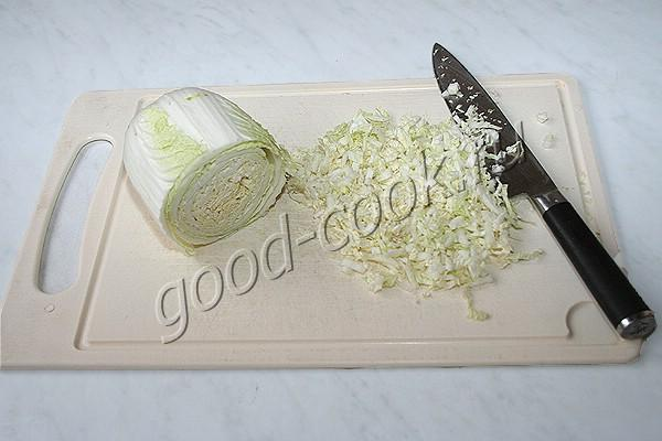 капустные оладьи