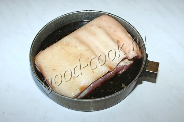 свиная грудинка в соевом соусе по-калифорнийски